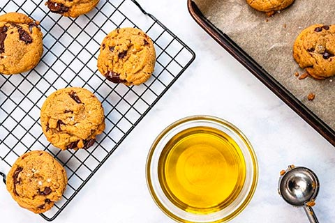 Chocolate Chunk Olive Oil Cookies